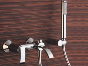 Levico-308 - Chrome-Badewannen-Aufputzarmatur