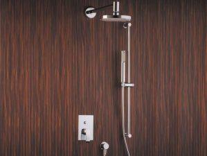 Levico-400 - Chrome-Komplett-Unterputz-Dusche