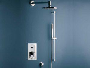 Massenza-400 - Chrome-Komplett-Unterputz-Dusche