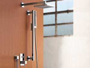 Terlago-400 - Chrome-Komplett-Unterputz-Dusche