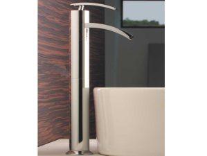 Levico-493 - Chrome-Waschbecken-Aufsatzarmatur