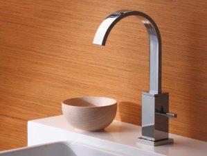 Terlago-88 - Chrome-Waschbecken-Aufsatzarmatur