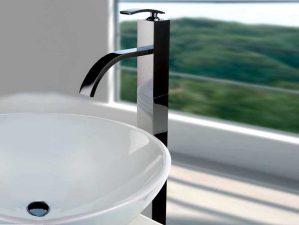 Toblino-488 - Chrome-Waschbecken-Aufsatzarmatur