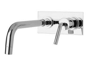 Viverone-208-P - Chrome-Waschbecken-Unterputzarmatur