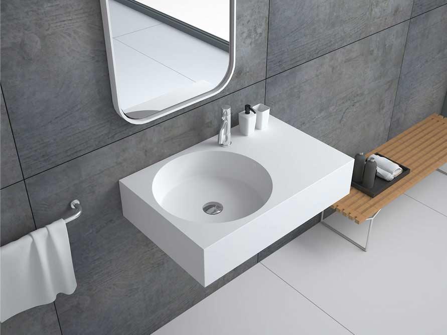 tidone waschbecken mineralguss weiss matt oder gl nzend. Black Bedroom Furniture Sets. Home Design Ideas
