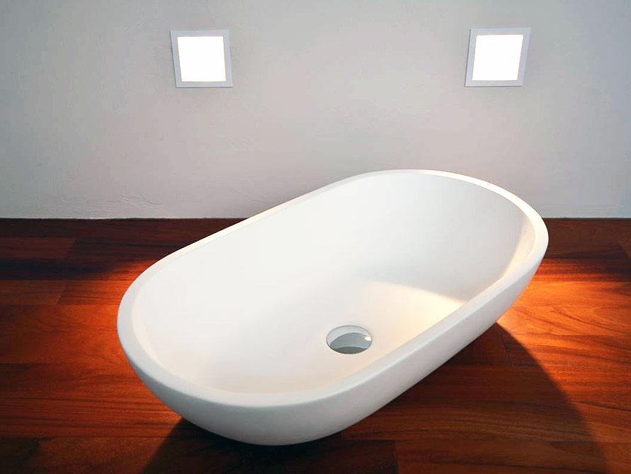 taro waschtische mineralguss weiss matt oder gl nzend. Black Bedroom Furniture Sets. Home Design Ideas