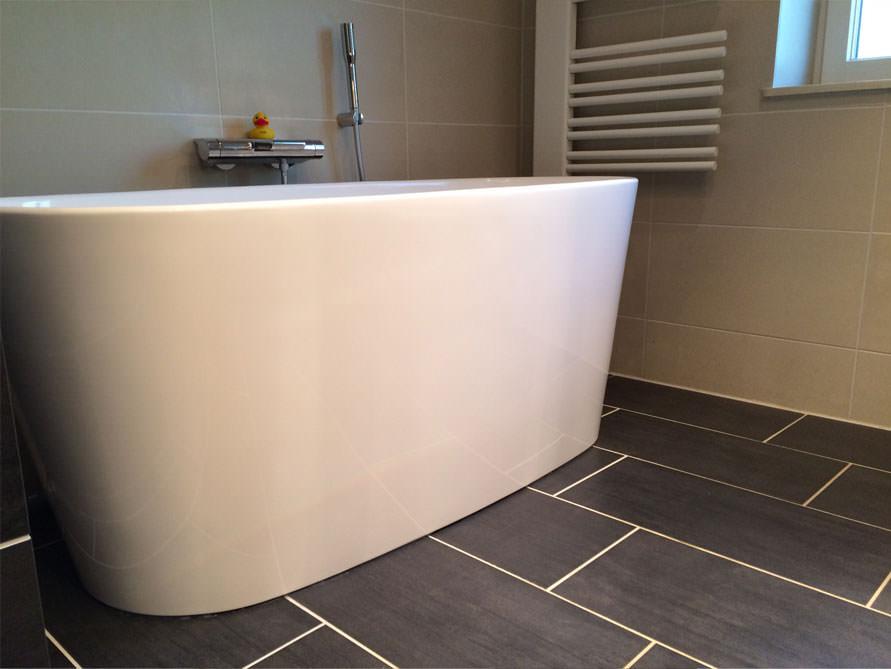 Badezimmer Idee mit der freistehenden Badewanne Bellagio