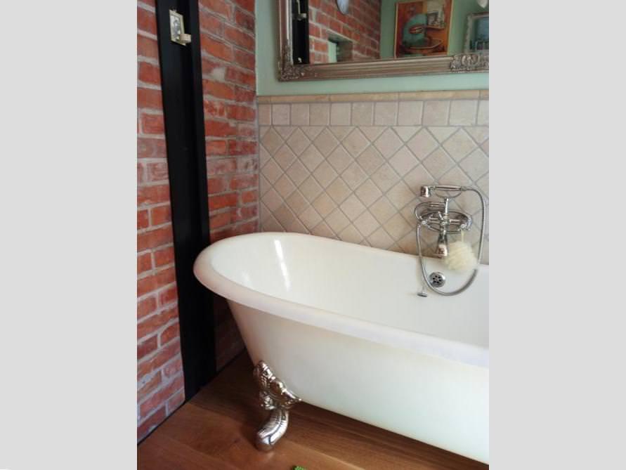 Badezimmer idee bristol freistehenden badewanne - Nostalgie badezimmer ...
