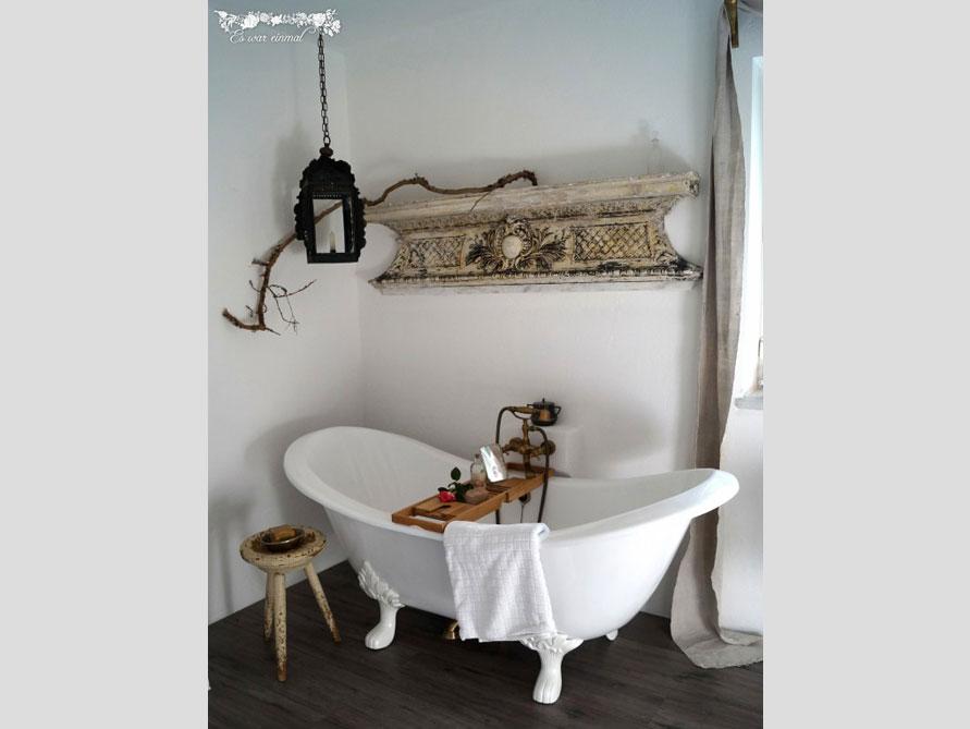 Badezimmer idee edinburgh freistehenden badewanne for Badezimmer ideen nostalgie