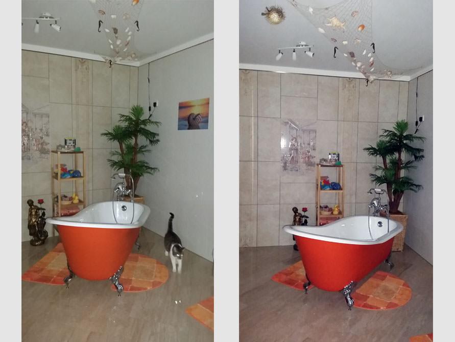 Badezimmer Idee mit der freistehenden Badewanne Liverpool Big