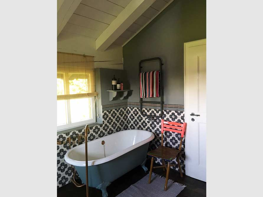 Badezimmer-Idee mit der freistehenden Badewanne Manchester