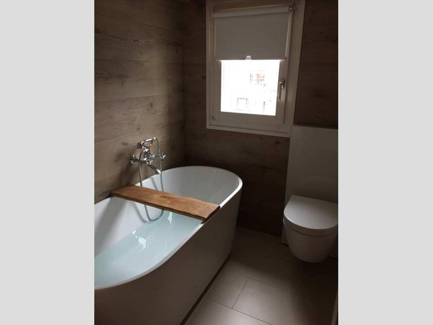 Badezimmer Idee mit der freistehenden Badewanne Murcia