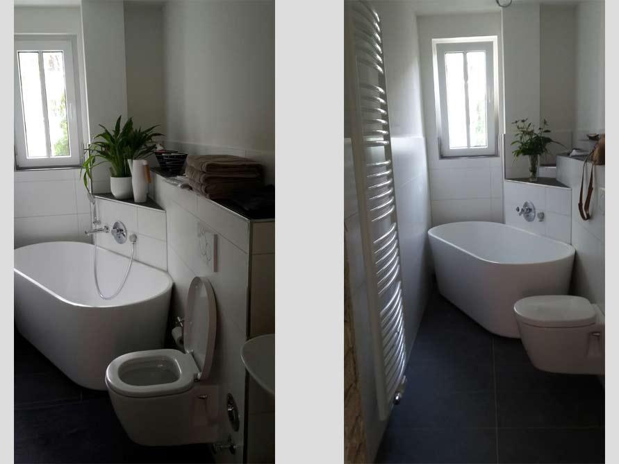 Badezimmer Idee Mit Der Freistehenden Badewanne Murcia. «
