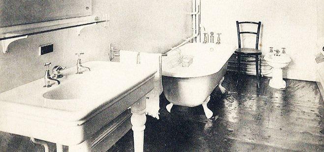Die Geschichte der Badewanne