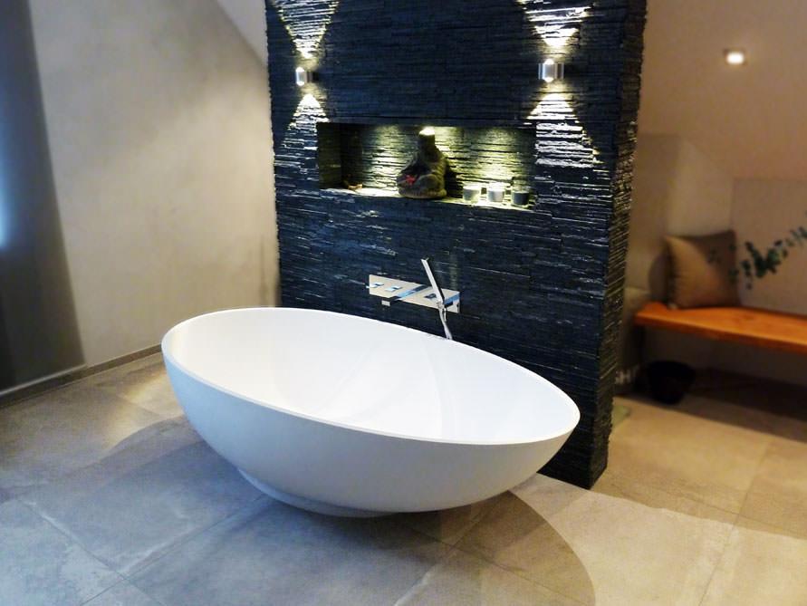 campione freistehende mineralguss badewanne weiss matt. Black Bedroom Furniture Sets. Home Design Ideas
