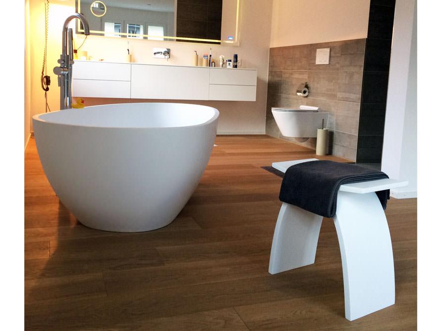 pianoro freistehende mineralguss badewanne weiss matt oder gl nzend. Black Bedroom Furniture Sets. Home Design Ideas